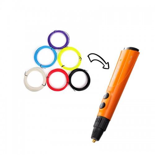 Консуматив за 3D писалка – PLA - 6 цвята