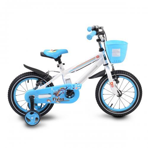 """Детски велосипед с помощни колела - 14"""""""