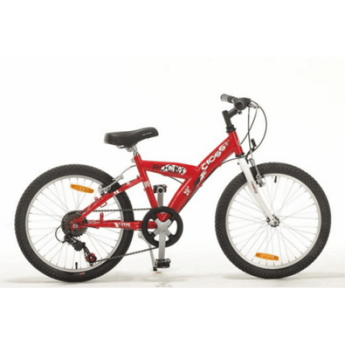 "Детски велосипед - CROSS - ROCKY 20"" със 6 скорости"