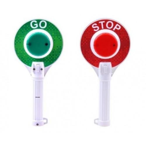 Детска STOP палка - полицейска палка - светеща