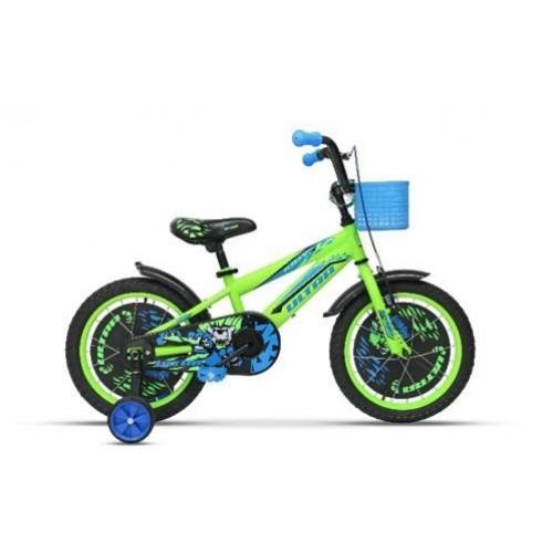 """Детски колело с помощни колелца - 16"""" - Ultra Kidy"""