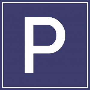 """Пътен знак със стойка - Д19 - """"Паркинг"""""""