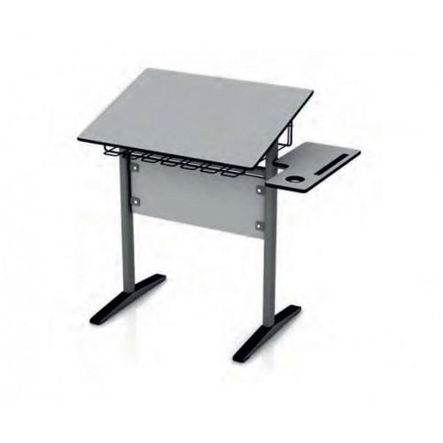 Ученическа маса за кабинети по рисуване - маса - статив - 2 в 1 - 50 х 70см