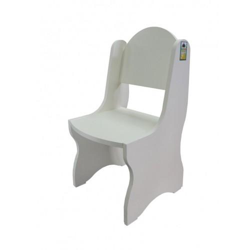 """Детски кът """"Чичо доктор"""" - Дървено столче Н=32"""
