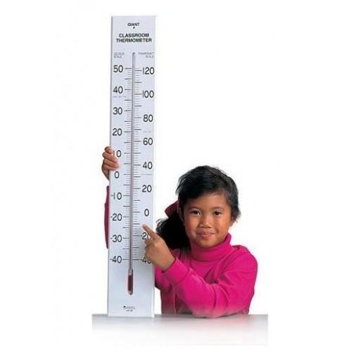 Гигантски термометър за класната стая
