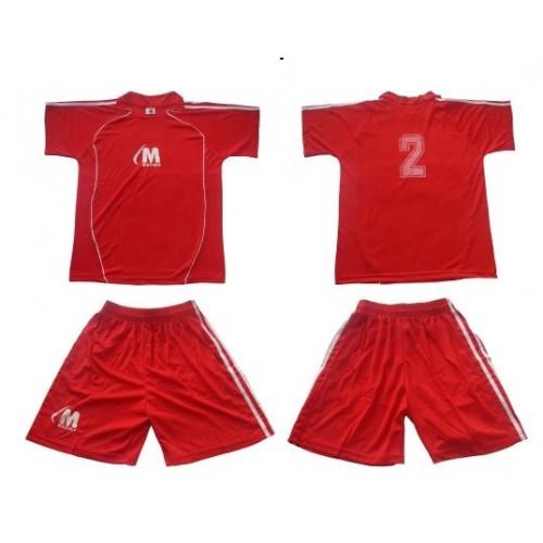 Комплект от 12бр. футболни екипи с номера на гърба