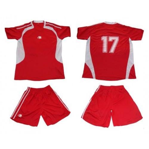 Комплект от 16бр. футболни екипа с номера на гърба