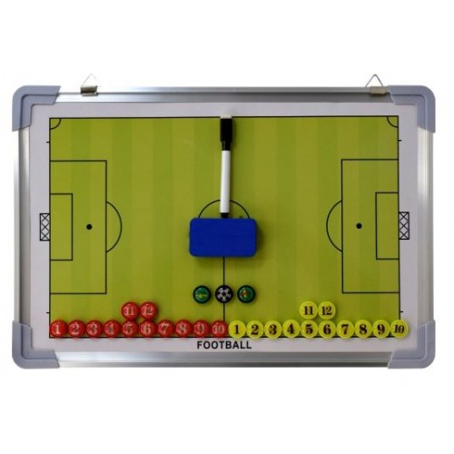 Треньорска дъска -  Футбол - 45х30х2см.