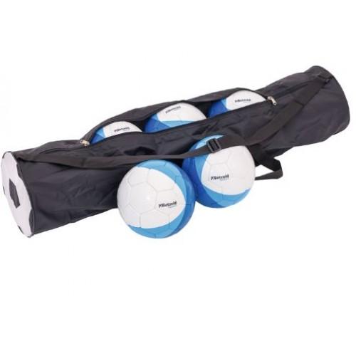 Комплект от 5бр. футболни топки с чанта