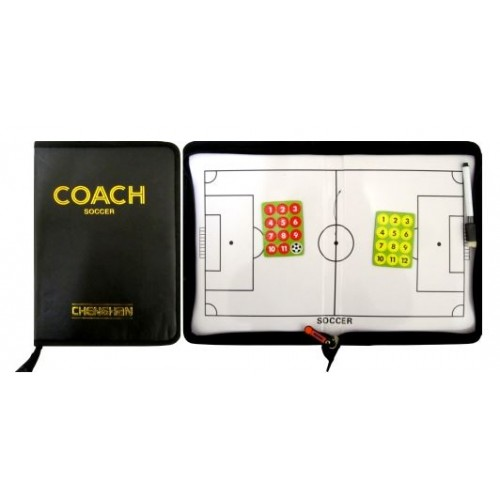 Треньорска магнитна папка - футбол