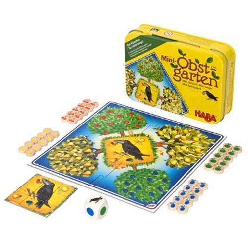 """Игра в метална кутия """"Овощна градина"""" - HABA - 2539 (от 3 до 6 год.)"""