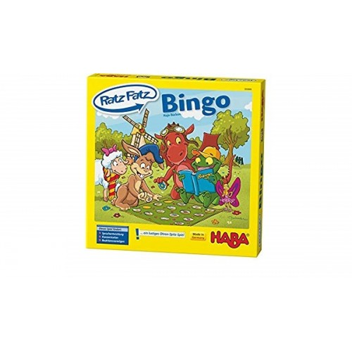 """Еко настолна игра """"Бинго"""" - HABA - 300880 - (от 4 до 12 год.)"""