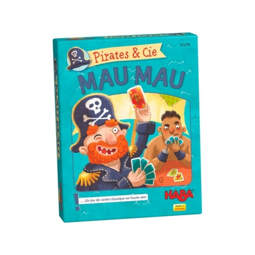 """Игра с карти """"Пирати"""" - HABA - 303294 - (от 4 до 99 год.)"""