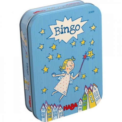 """Игра с числа в метална кутия """"Бинго"""" - HABA - 303699 (от 6 до 99 год.)"""