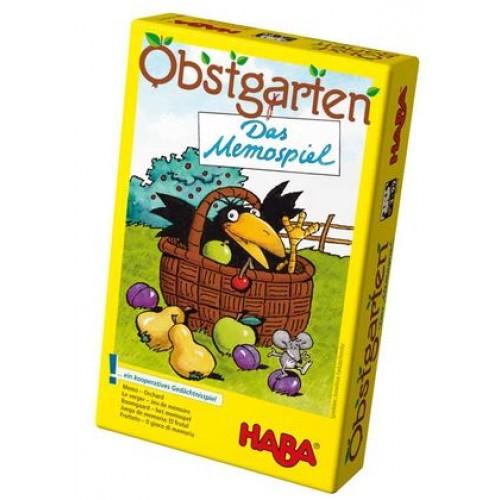 """Еко мемо игра """"Овощна градина"""" - HABA - 3285/4610 - (от 3 до 99 год.)"""