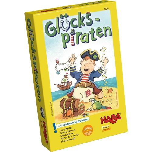 """Образователна игра """"Пирати късметлии"""" - HABA - 4320 (от 4 до 10 год.)"""