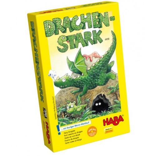 """Еко настолна игра """"Огнени дракони"""" - HABA - 4498 (от 5 до 99 год.)"""