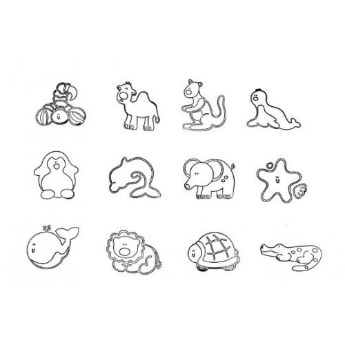 Комплект от печати - Животни