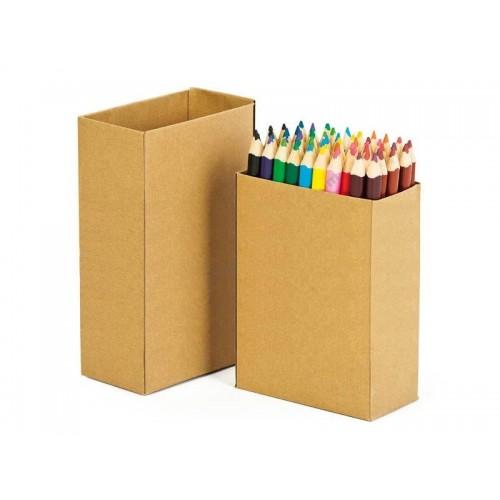 Комплект от 60бр. дебели цветни моливи