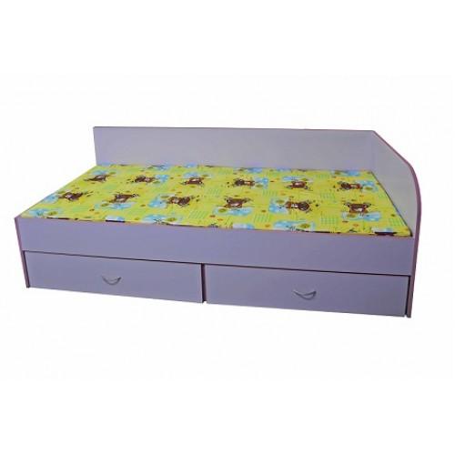Детско легло с две чекмеджета ДЯСНО - 194х90см - Н=44см