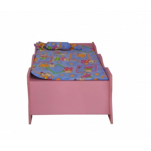 Детски кът за детска градина - Чичо доктор - Легло 70х120см