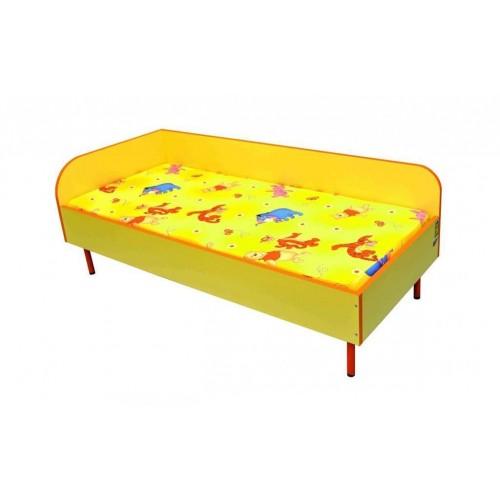 Детско легло за детска градина със заоблена таблетка ЛЯВО - 144х64 Н=33см