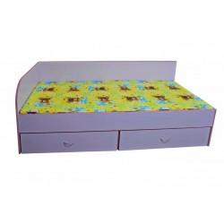 Детско легло с две чекмеджета - ЛЯВО - 194х90см - Н=44см