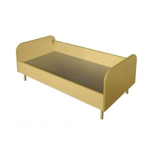Детско легло за детски заведения със заоблени ръбове - 125х65см Н=55см