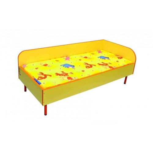 Детско легло за детска градина със заоблена таблетка ДЯСНО - 144х64 Н=33см