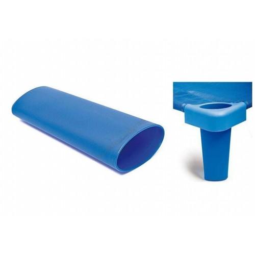 Комплект от 4бр. крака за стифиращо легло - синьо - H - 11см