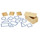 Монтесори основи на геометрични фигури