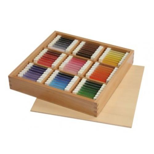 Монтесори комплект за зрително възприятие - Цветова гама