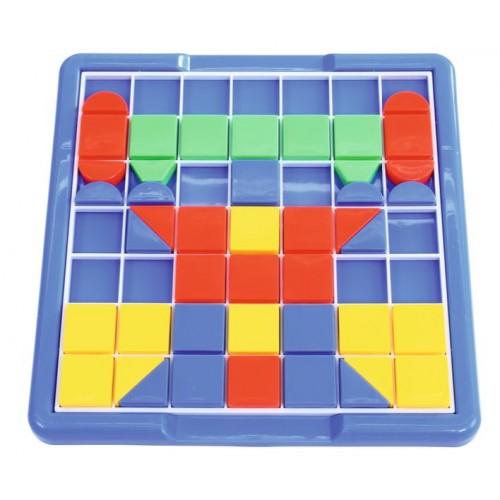 Голяма мозайка геометрични форми - 100 части