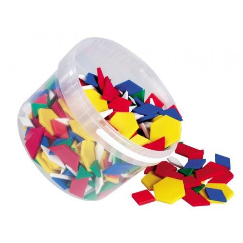 Мозайка с геометрични фигури - 250 части