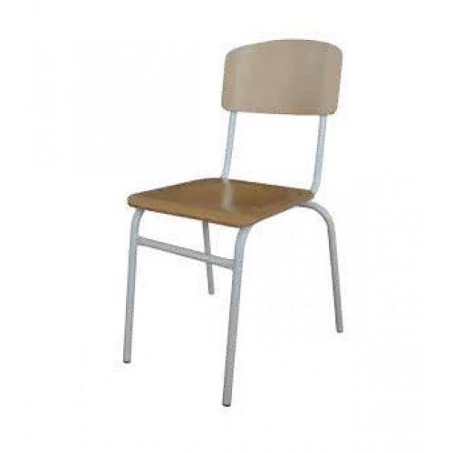 Класически ученически стол - стифиращ - Н-42см