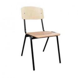 Ученически стол - стифиращ двойно укрепен - Н=46