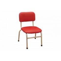 Столче детско тапицирано с кожа Н=38см