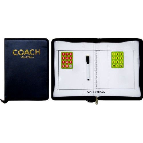Треньорска  магнитна папка за волейбол