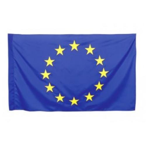 Знаме на ЕС - НОСИМО - двустранен печат - 70х120см